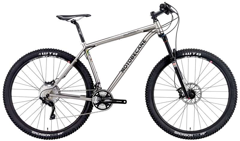 Bikes 2015 Motobecane Fantom 29 Team Ti Shimano XT Revelation RL Suspension Mountain Bike Image