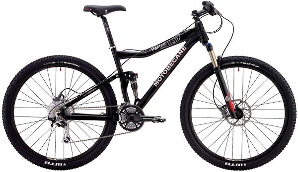 Bikes Motobecane Fantom Comp DS 4x4 Shimano XT/SLX 3x10 Speed 29er Mountain Bike Image