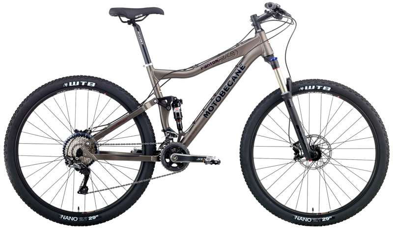Bikes Motobecane Fantom DS 29 4x4 Expert Shimano SLX Full Suspension Mountain Bike Image