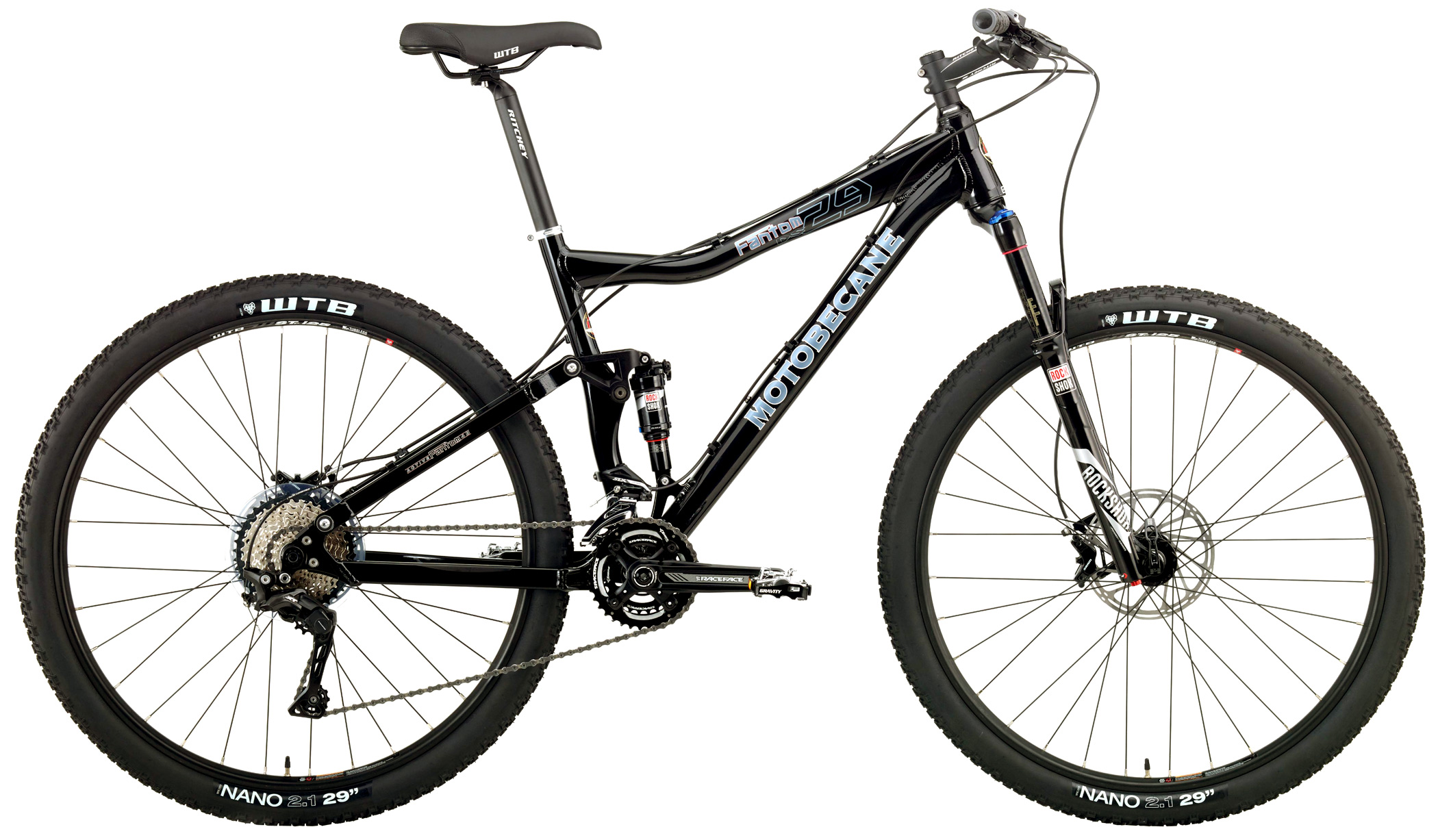 Bikes Motobecane Fantom 29 DS Pro Shimano SLX Equipped Image
