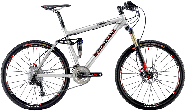 Bikes 2011 Motobecane Fantom Team SRAM XO 20 Speed Dual Suspension Mountain Bike Image