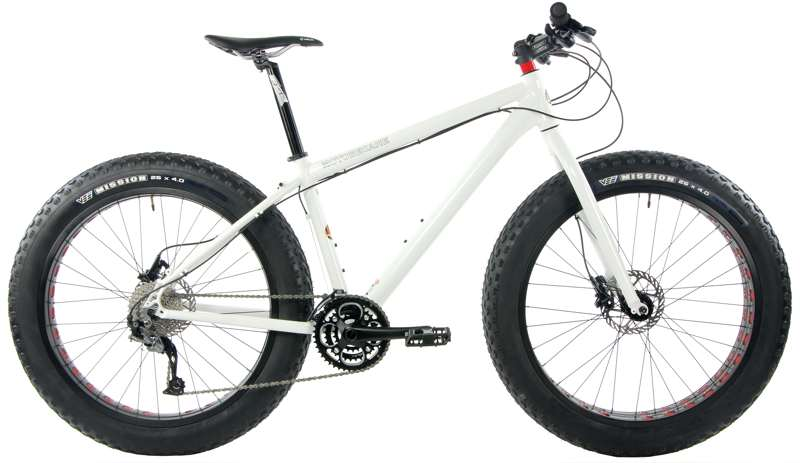 Bikes 2015 Motobecane FB4 Elite Shimano SLX / Alivio 27 Speed Hydraulic Disc Brake Fat Bike Image