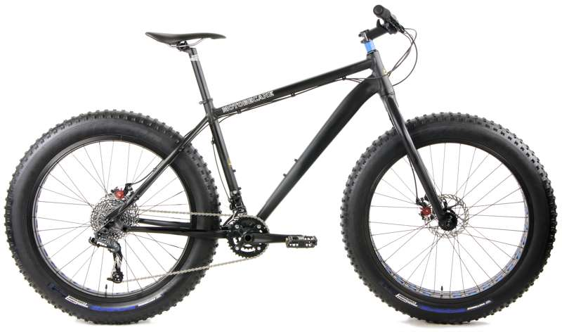 Bikes Motobecane FB5 2.0 Rigid Fork SRAM X5 X7 2 x 10 Disc Brake Fat Bike Image