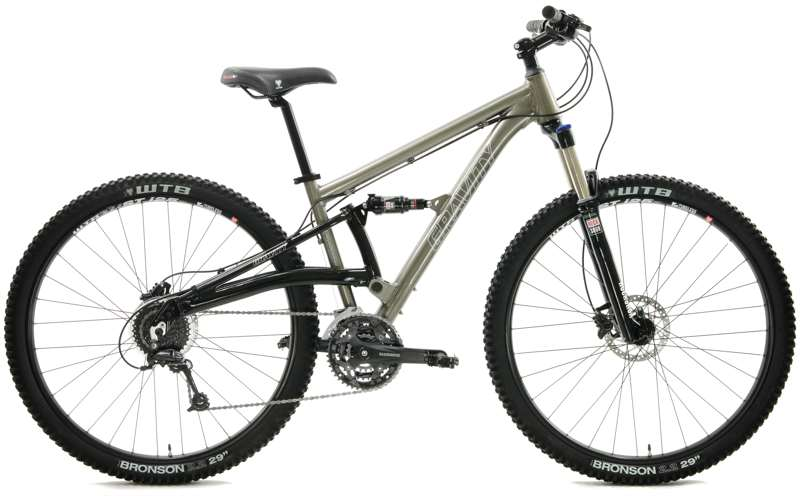 Bikes Gravity FSX 29 Pro Shimnao Deore 27 Speed Full Suspension Mountain Bike Image