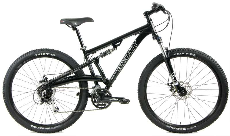 Bikes Gravity FSX 27.5 LTD Lockout Suspension Fork 24 Speed Mountain Bike Image