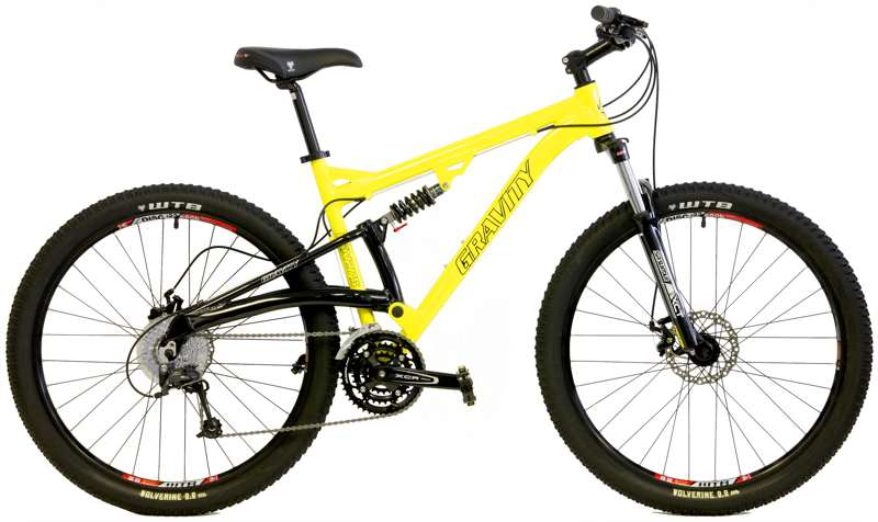Bikes Gravity FSX 275 Lockout Suspension Fork 27 Speed 27.5 (650B) Full Suspension Mountain Bike Image