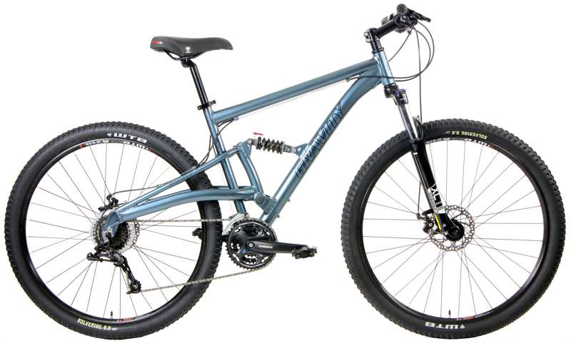 Bikes Gravity FSX 29 X5 Sram Equipped 24 Speed Full Suspension Mountain Bike Image