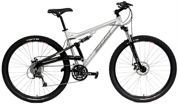 Bikes Gravity FSX 29 One Shimano Deore 27 Spd 29er Mountain Bike Image