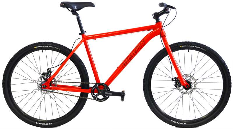 Bikes Gravity G27 Five SS Single Speed Mountain Bike Image