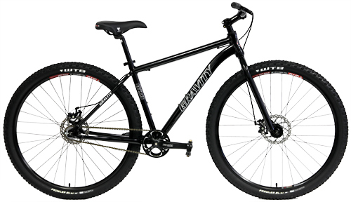 Bikes Gravity G29 Single Speed Disc Brake 29er Mountain Bike Image