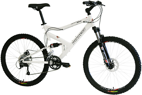 Bikes Windsor Ghost 6500 Shimano Deore 24 Spd  Dual Suspension Mountain Bike Image