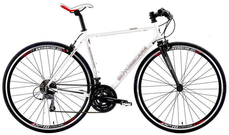 Bikes Motobecane Gigi Tour Shimano, 21 Speed Womens Carbon Fork Flat Bar Road Bike Image