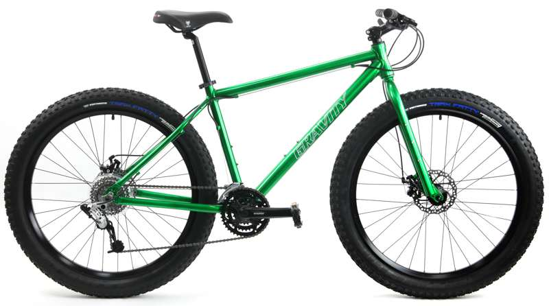 Bikes Gravity Bullseye 27.5 Plus Shimano SRAM X4 24 Speed Disc Brake Fat Bike Image