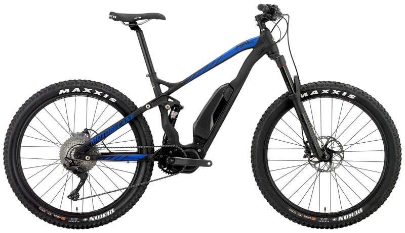 Bikes 2018 Motobecane HAL eBoost PRO Shimano XT / E8000 Electric MidDrive Full Suspension Rockshox PIKE  Image
