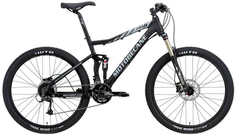 Bikes 2017 Motobecane 27.5 Full Suspension MTB HAL5 TRAIL Edition Image