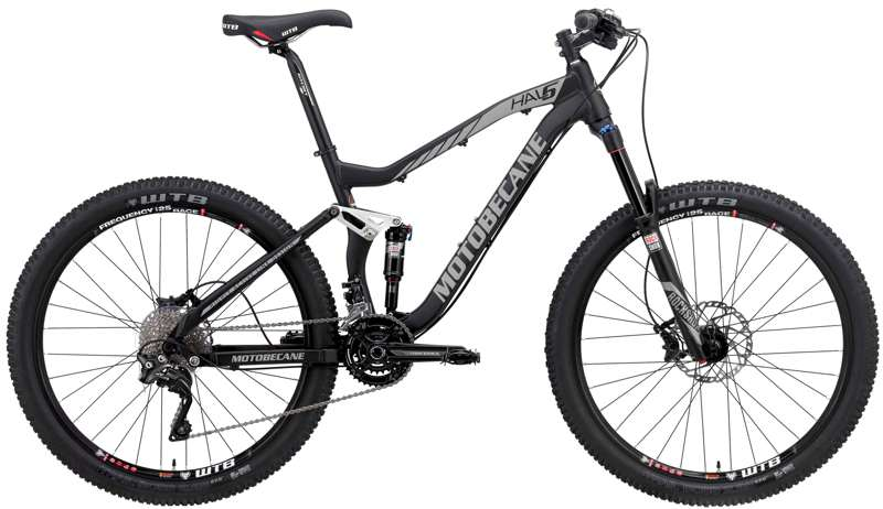 Bikes 2017 Motobecane Hal6 Expert 27.5 Full Suspension MTB 2x11 Shimano Equipped Image