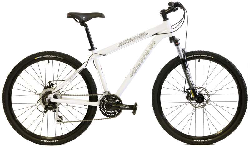 Bikes Dawes Haymaker 2750 LockOut Suspension Fork Shimano 24 Speed 27.5 (650B) Mountain Bike Image