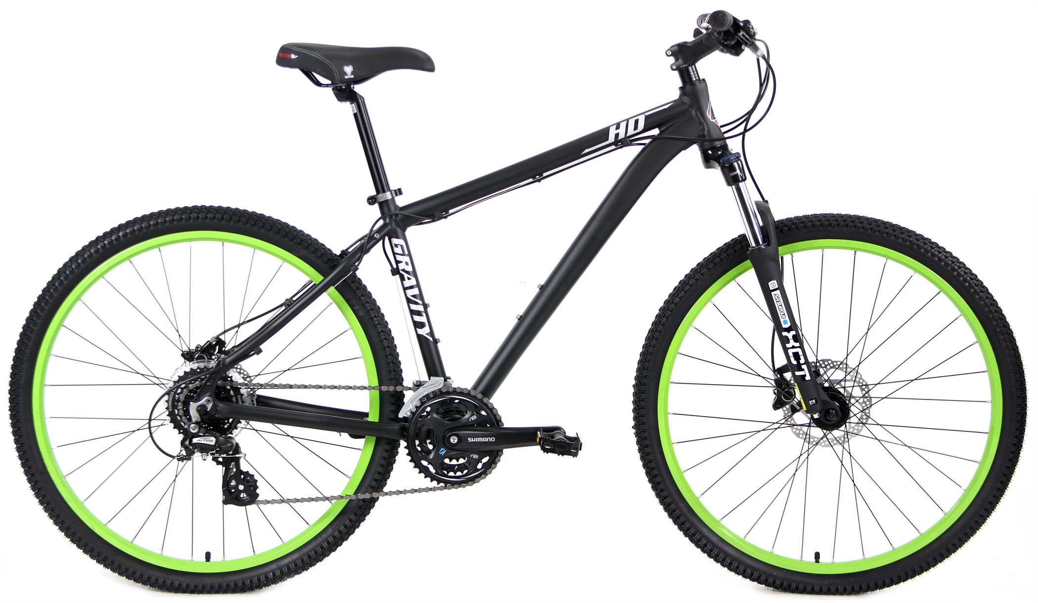 Bikes Gravity HD Elite 27.5 or 29 inch Long Travel Fork Hydraulic Disc Brake Mountain Bike Image