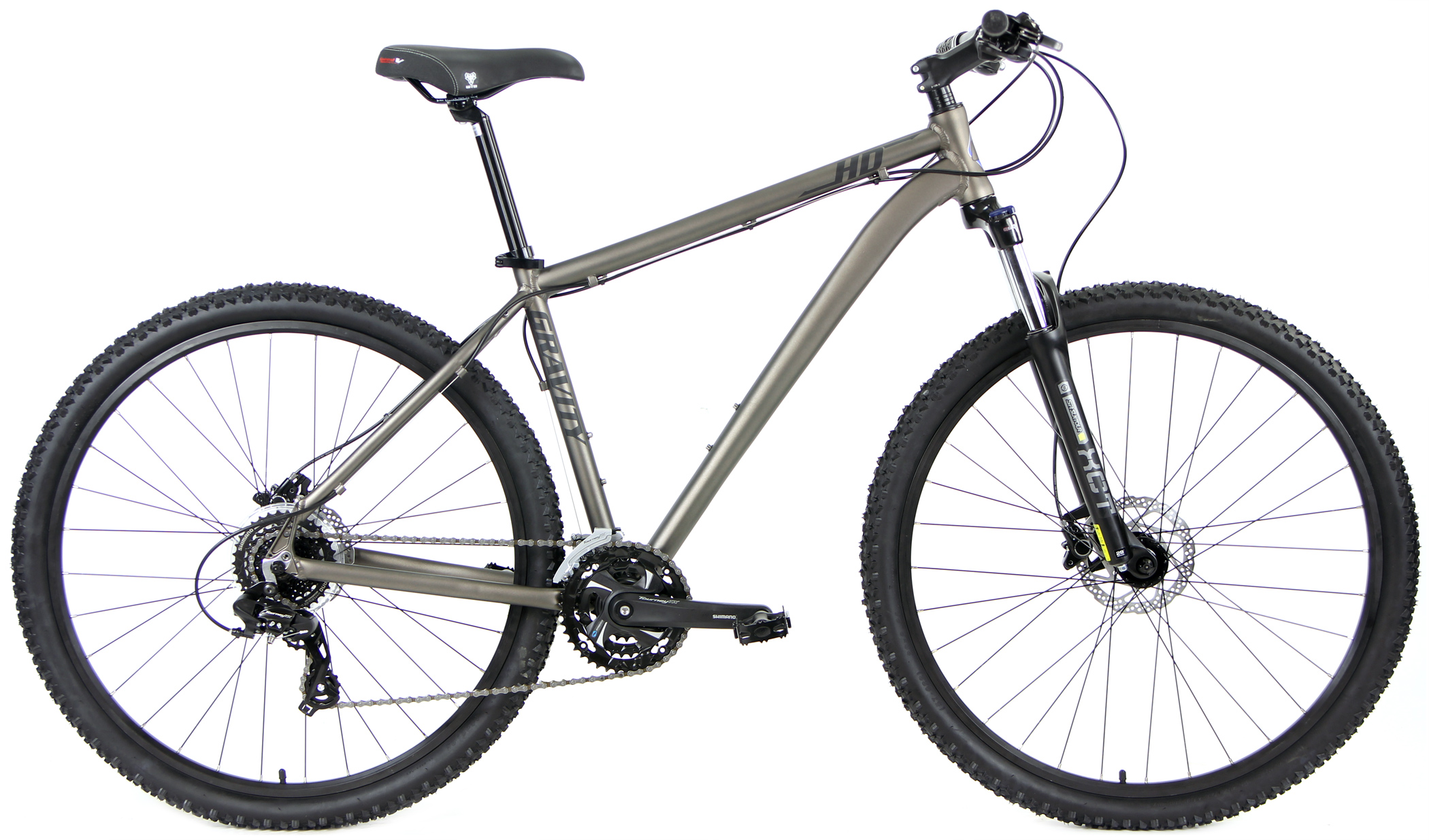 Bikes Gravity HD Comp Long Travel Fork Hydraulic Disc Brakes 29 or 27.5 inch wheels Image