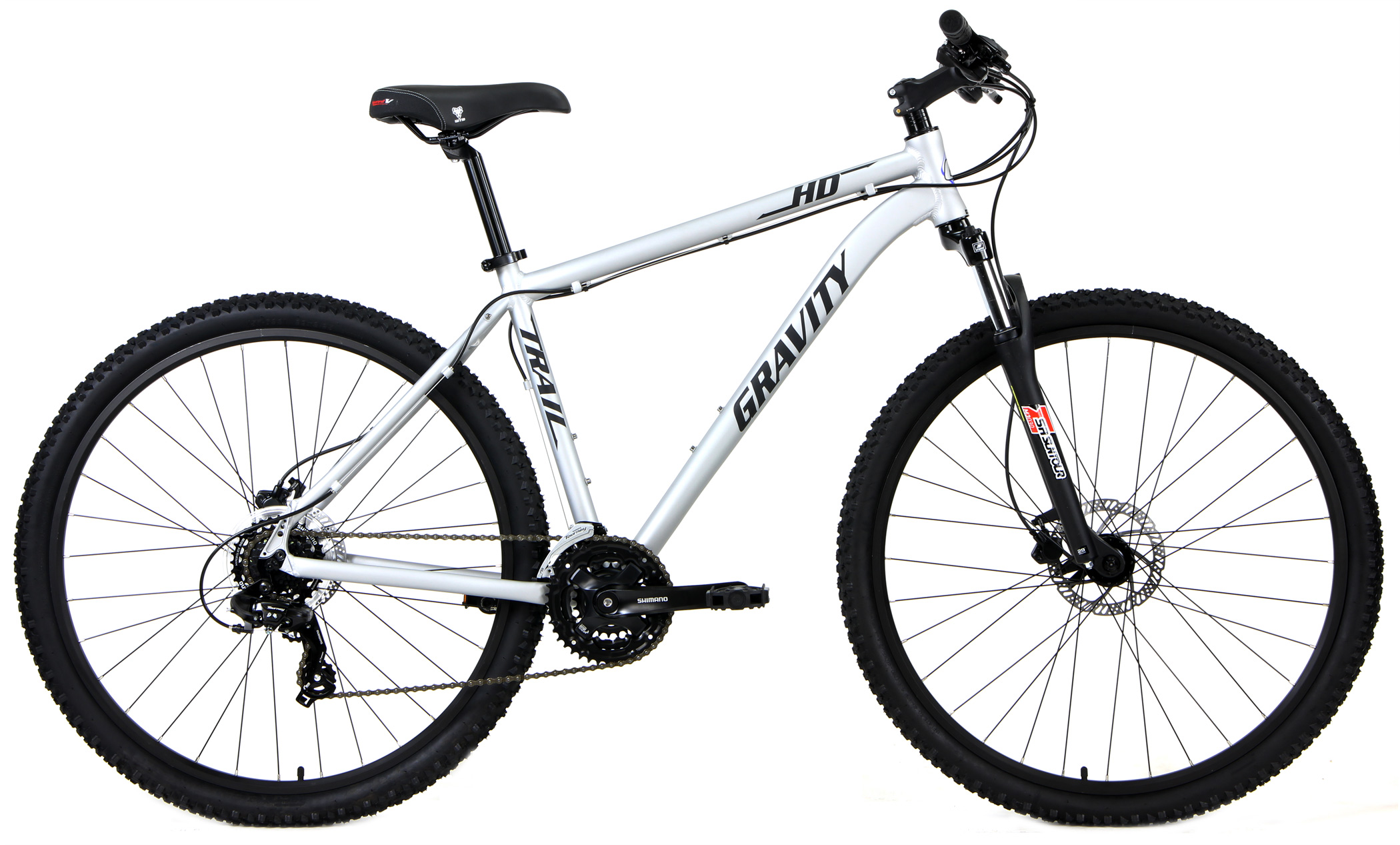 Bikes Gravity HD 29 Trail Long Travel Fork Hydraulic Disc Brakes 29 inch Wheels Image