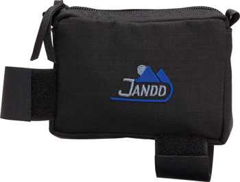 Accessories Jandd Stem Bag Zippered Black Image