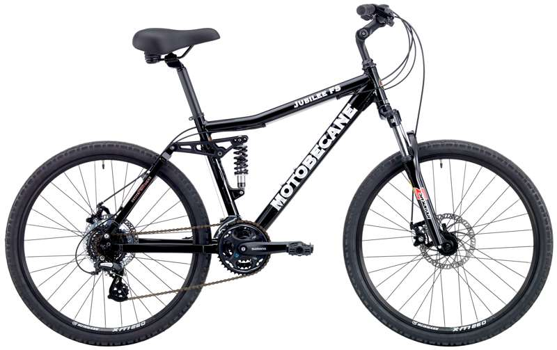 Bikes Motobecane Jubilee FS Shimano 24Sp Full Suspension Comfort Bike Disc Brakes Image