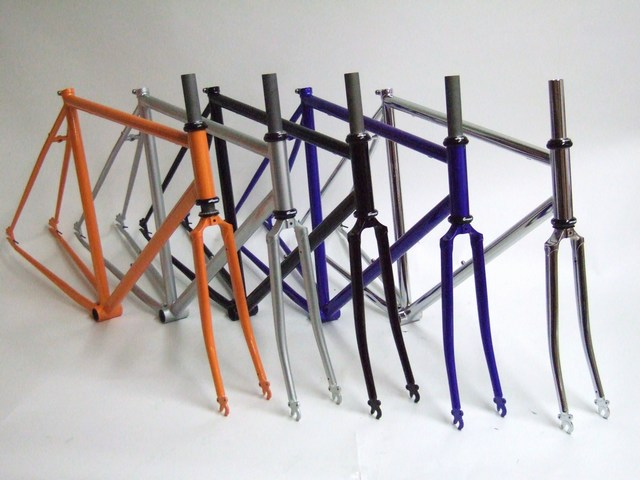 Parts Cro Moly Single Speed Track Frame Set Image