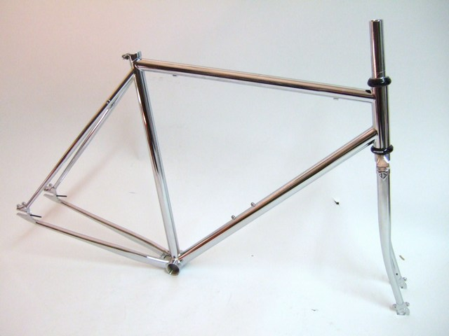 Parts Jury CroMoly SS Track Frame Set CHROME Image