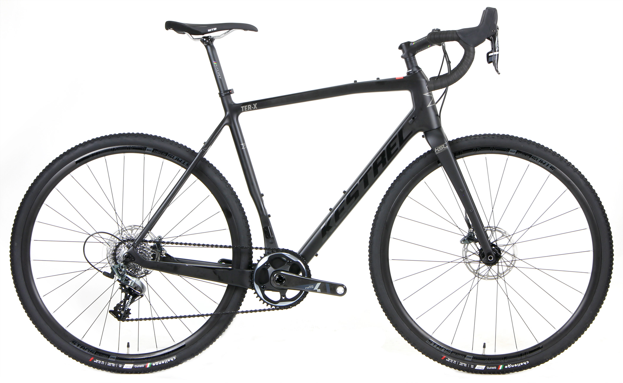 Bikes Kestrel Ter X Force 1 X 11 Carbon Hydraulic Disc Brake Gravel Bike Image