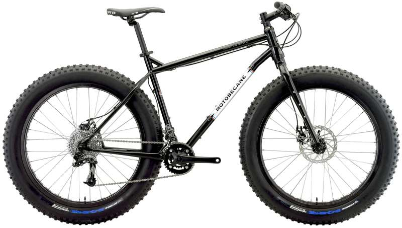 Bikes Motobecane Lurch Fat Bike SRAM X9 2x10 Speed CrMo Frame  Image