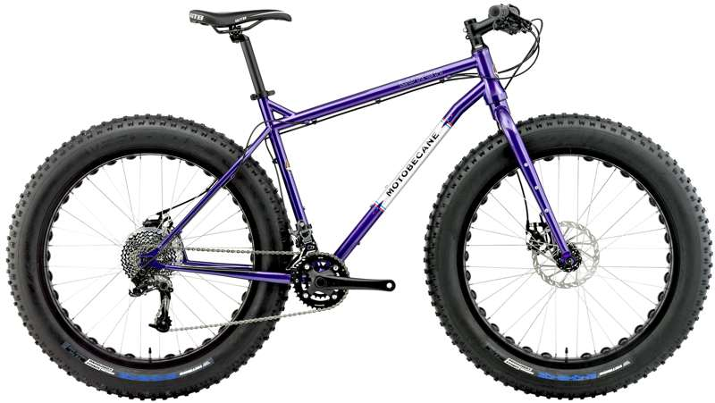 Bikes 2016 Motobecane Lurch LTD Fat Bike with Rigid Fork Image