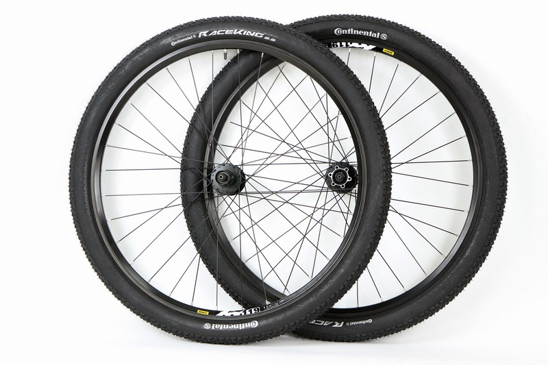 Parts Mavic XM 119 Mountain Bike Wheels With Continental Race King Tires Image