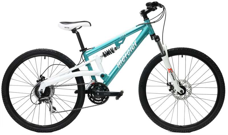 Bikes Mercier Mount Elle Woman's Full Suspension Mountain Bike Image