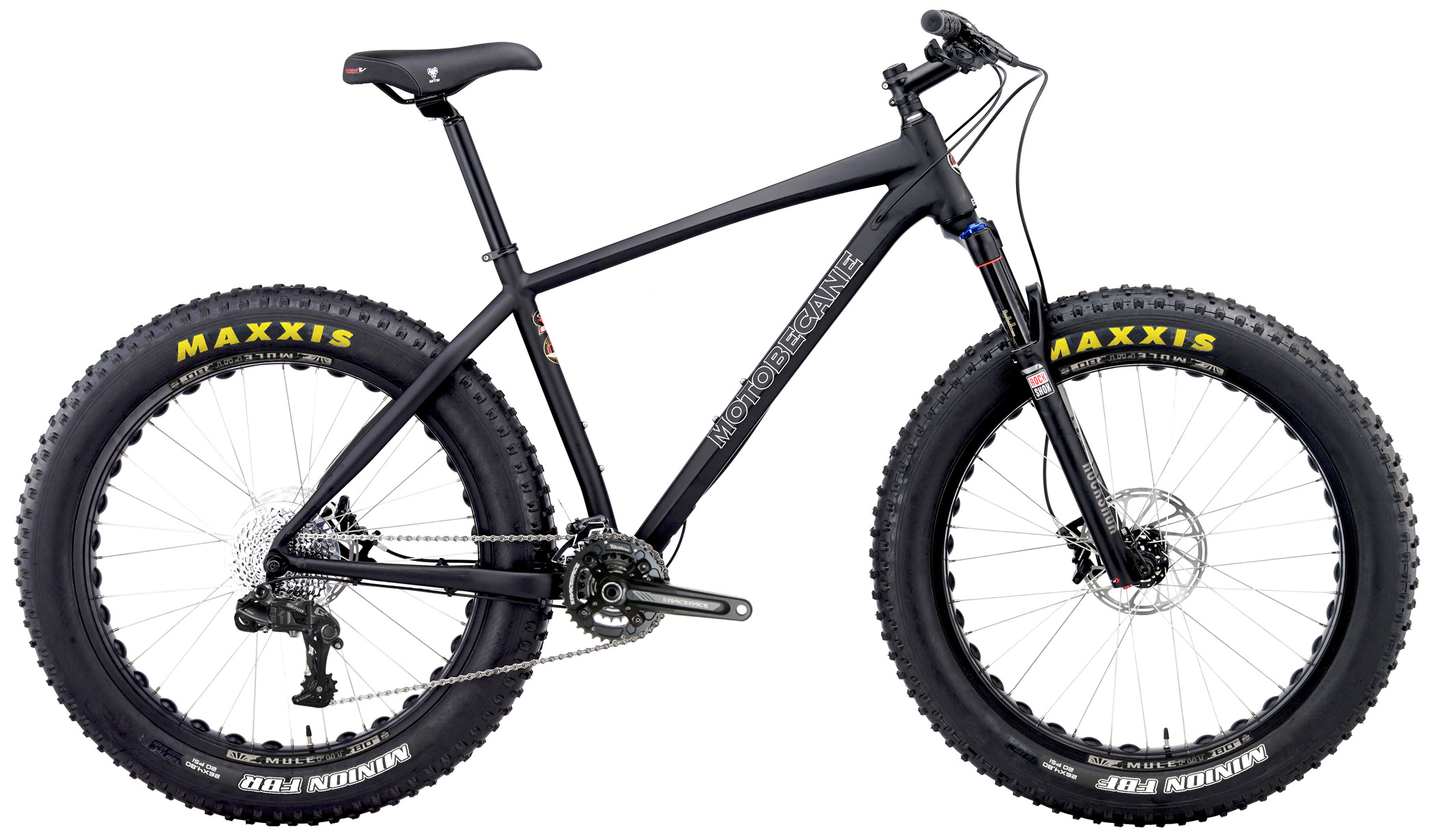 Bikes Motobecane Night Train Ti SL Titanium Frame Carbon Fork Fat Bike Image