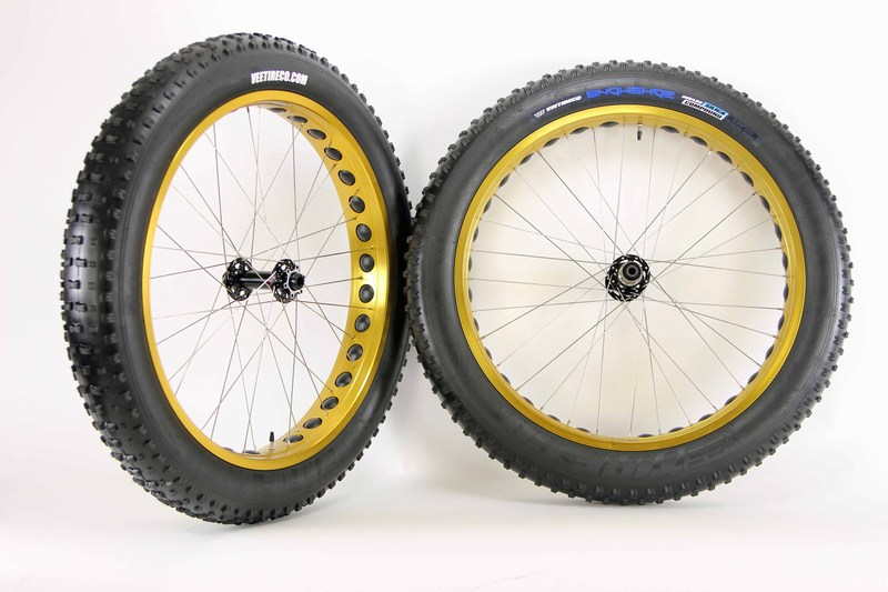 Parts Night Train Gold Wheels for Fat Bikes Image