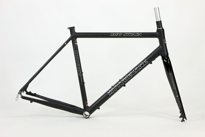 Parts Motobecane Omni Strada Kinesis Aluminum Disc Brake Gravel / Super Road Bike Frame and Fork Image