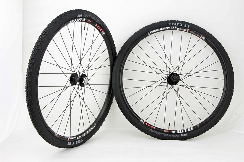Parts 700c Disc Brake Monster Cross WTB Frequency Race TCS i23 Wheel Set Image