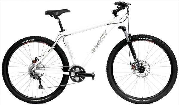 Bikes Gravity Point 2 29er Mountain Bike with Suspension Fork Image