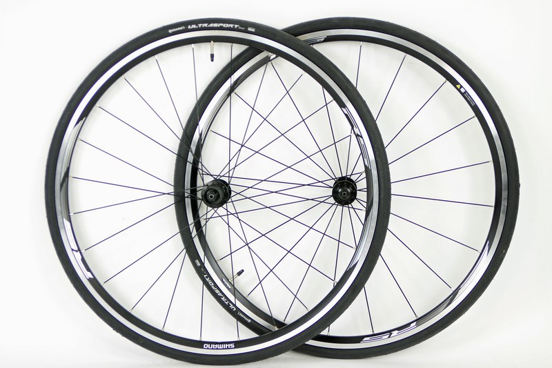 Parts 700c Shimano RS010 Road Wheels With Tires Image