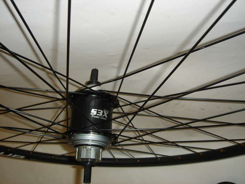 Parts S3X Fixed Gear Internal 3 Speed Wheelset Image