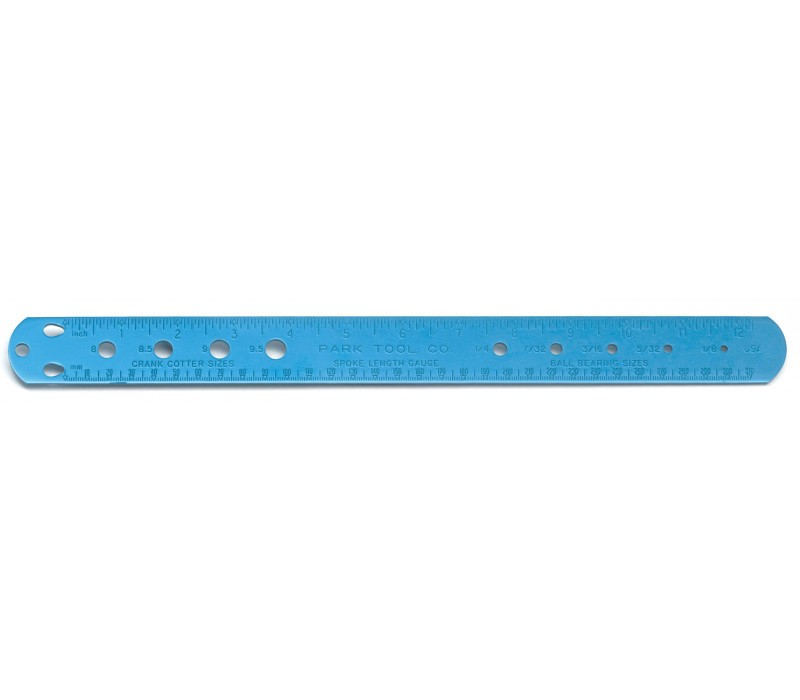 Accessories Park Tool SBC-1 Spoke ruler, Cotter and Ball Bearing Gauge Image