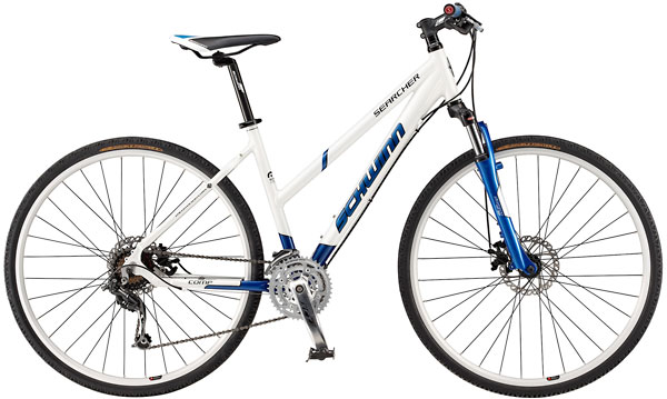 Bikes Schwinn Searcher Comp Hybrid 24 Speed Comfort Bike Image