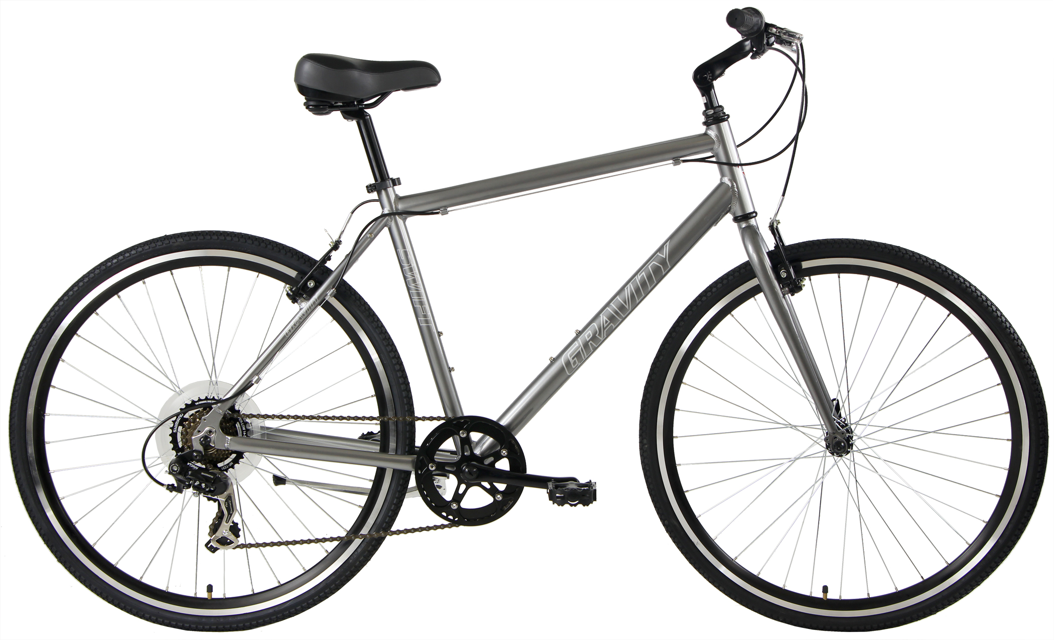 Bikes Gravity Swift 7 Flat Bar Super Commuter Image