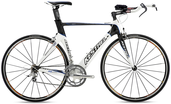 Bikes 2010 Kestrel Talon Carbon Tri Ultegra Equipped Road Bike Image