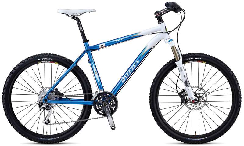 Bikes Breezer Thunder Pro Shimano XT/SLX 27 Speed Front Suspension Mountain Bike Image
