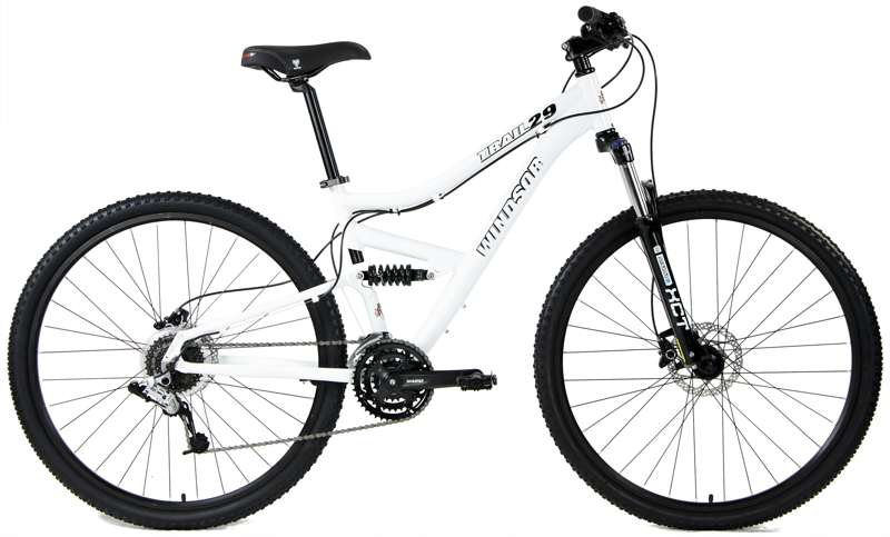 Bikes Windsor Trail  29 FS Comp SRAM 24Spd Full Suspension Mountain Bike Image