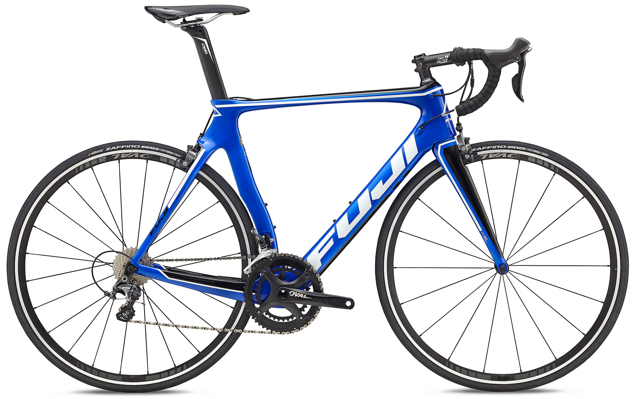 Bikes Fuji Transonic 2.3 Full Carbon AERO Road Bikes with Shimano Ultegra R8000 22 Speeds Image