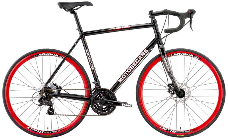 Bikes Motobecane Turino Comp Disc Shimano STI 21 Speed Carbon Fork Road Bike Image