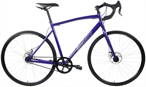 Bikes Gravity Vanquish Single Speed Road Cross Gravel Bike Disc Brake Image