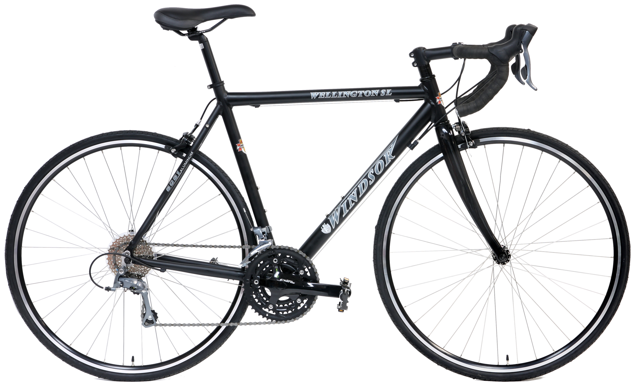 Bikes Windsor Wellington SL Shimano Claris 24 Speed Carbon Fork Road Bike Image